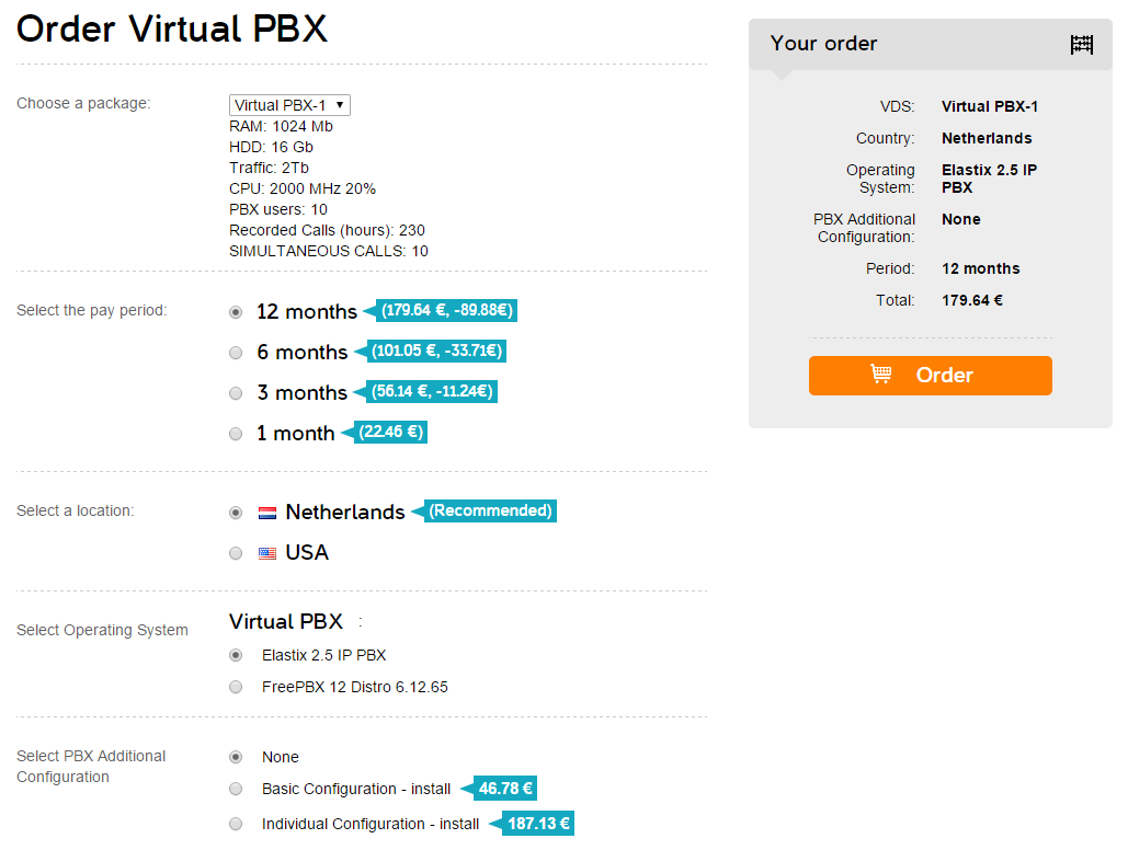 Foxcloud Knowledge Base How To Order And Receive A Virtual Pbx